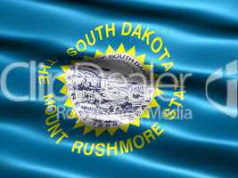 Flag of the state of South Dakota