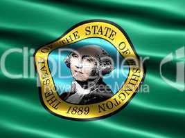 Flag of the state of Washington