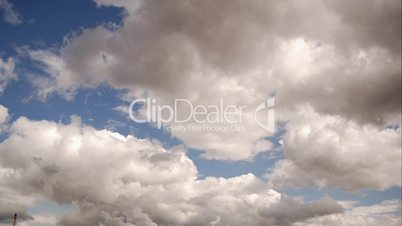 HD1080p Wolken am Himmel (Zeitraffer)