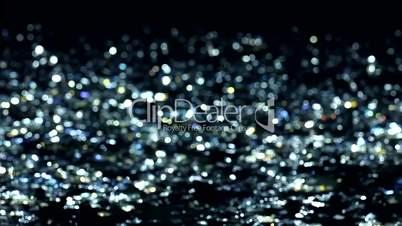Unscharfer Glitter