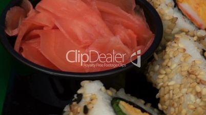Sushi full plate