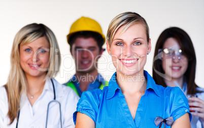 Multi-profession - Doctor, secretary, architect and scientist