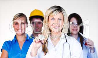 Multi-profession - Doctor, businesswoman, engineer and scientist