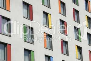Bunte Fenster -.Colorfull windows