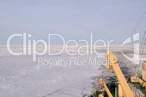 Eisbrecherfahrt am Polarkreis