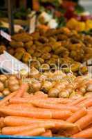Gemüsestand, veg stall