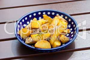 Rosmarinkartoffeln, rosemary potatos