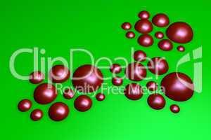rote halbkugeln