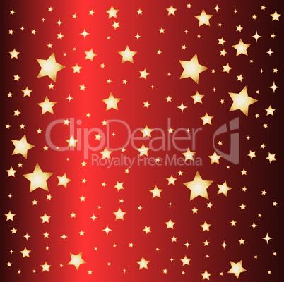 roter sternen hintergrund
