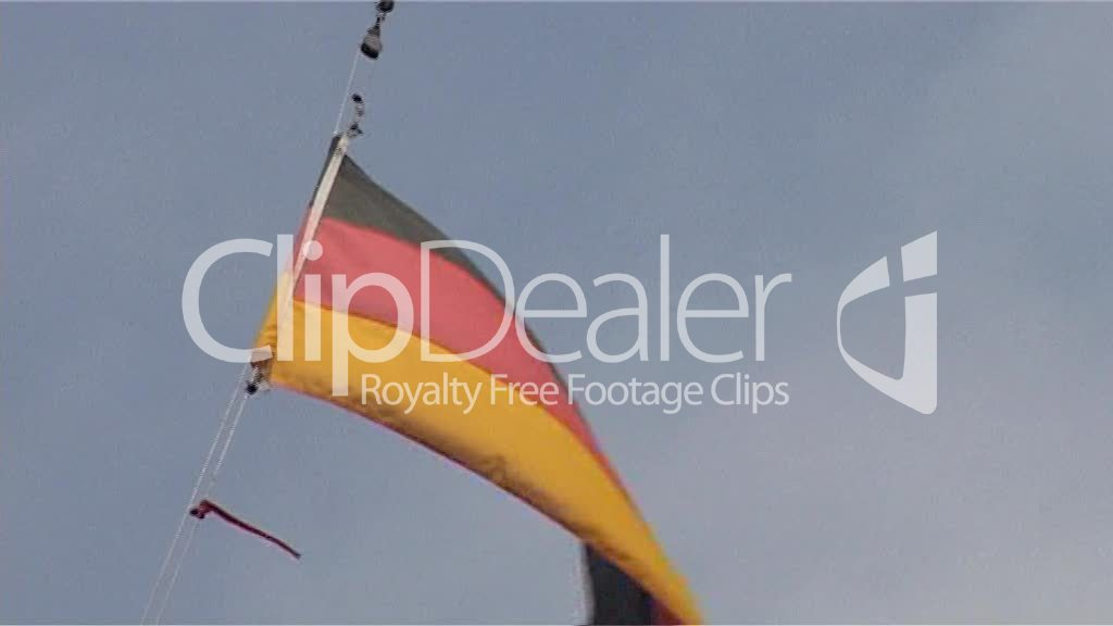 Deutschland Fahne 01 Royalty Free Video And Stock Footage