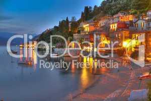Abend am Lago di Como