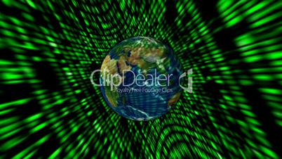 Global communication with green code