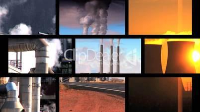 Industrie auf der Erde