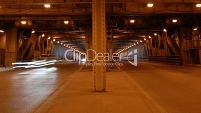 Underground Traffic Time Lapse