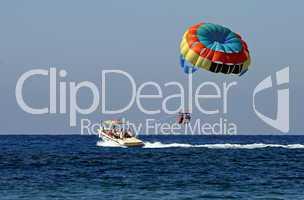 Paragliding auf Kreta