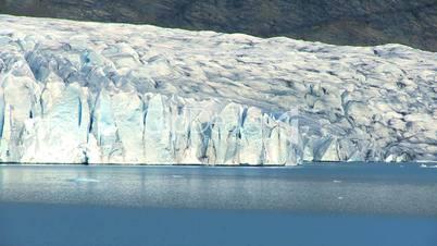 Eislandschaft schwenk