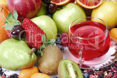 fruchtiger Tee