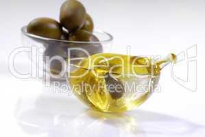 Olive in Olivenöl