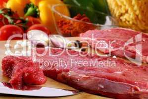 Rindfleisch roh