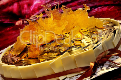 Karamellsplitter Torte