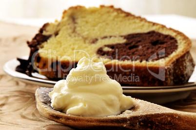 Sahne und Kuchen
