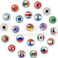 Fussball WM 2010 Buttons