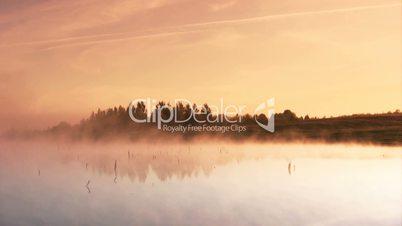 Timelapse clip morning dawn