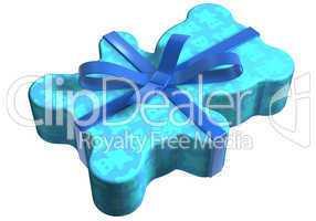geschenk teddy blau