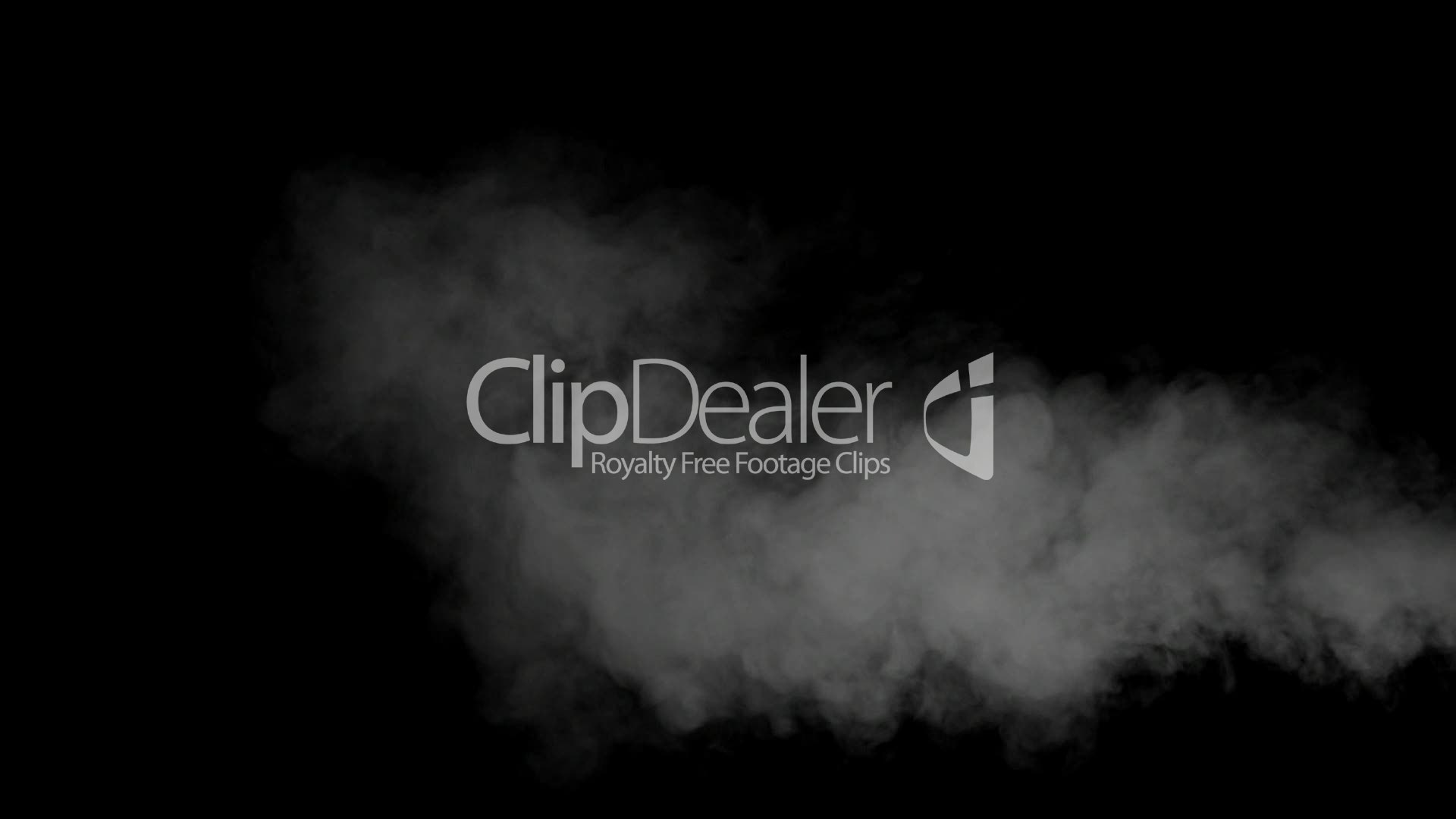 Smoke drift against black background: Royalty-free video and stock