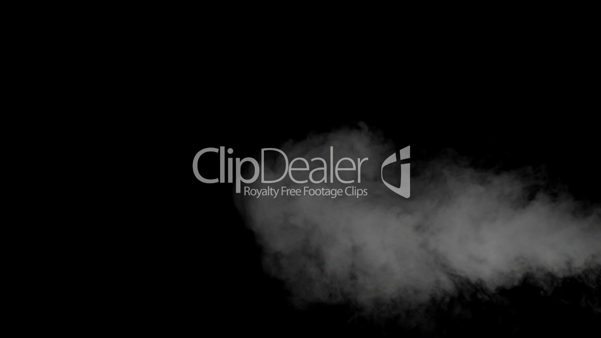Smoke drift against black background: Royalty-free video and
