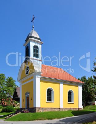 Kirche in Rossegg, Steiermark, Österreich