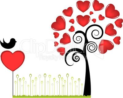 Vector Valentine's Day Decor Element