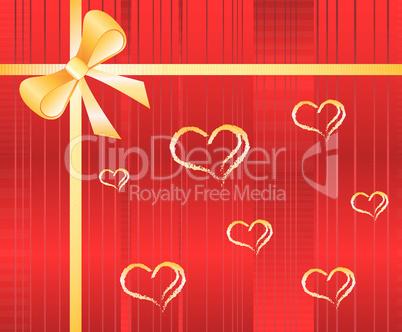 Vector Valentine's Design Background