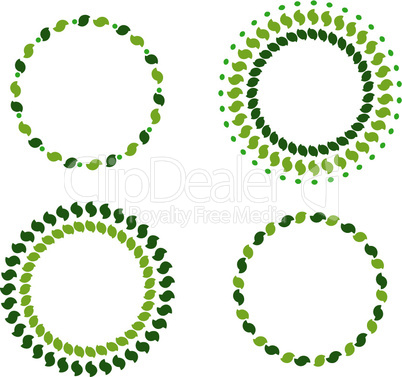 Grüne Kränze
