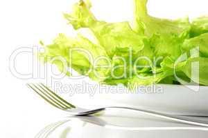 grüner Salatteller