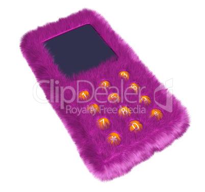 Fur phone