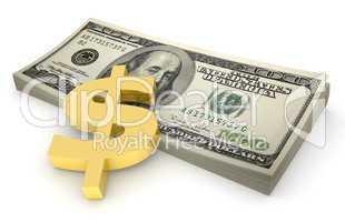 Sheaf of dollars #4