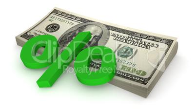 Dollars - percents