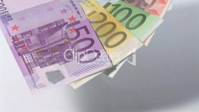 Fächer aus Geldscheinen - Fahrt zurück  - schneller