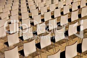 Stuhlreihen Struktur