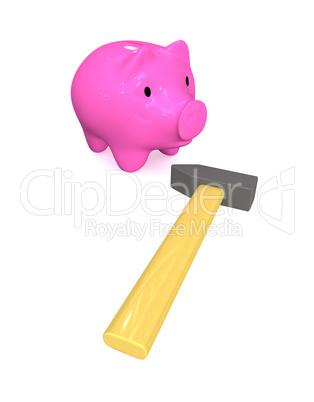 Threat to savings