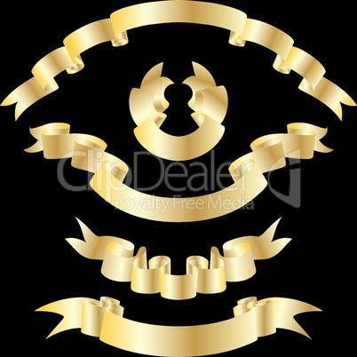 Goldene Bänder