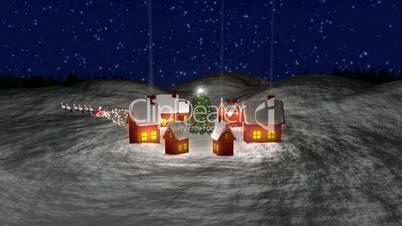 Santa Claus at Village HD1080