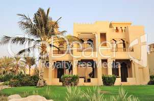 Villa in luxurious hotel, Dubai, UAE