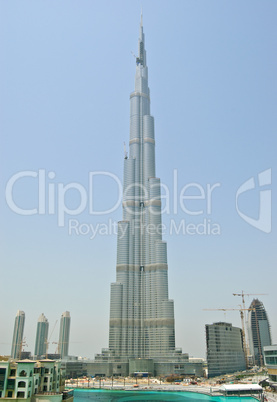 View on Burj Dubai, UAE
