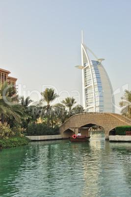 View on Burj al Arab hotel, Dubai, UAE