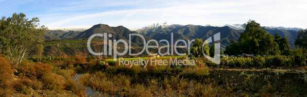 Ojai Valley With Snow (PI)