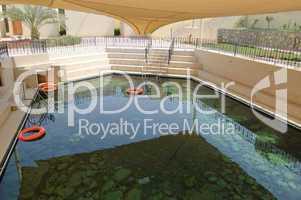 Thermal spring and spa pool, UAE