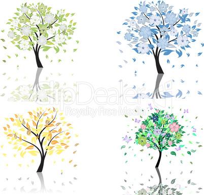 blossom tree set