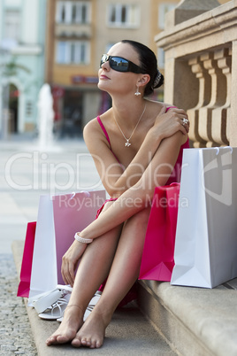 After The Shops/ Woman